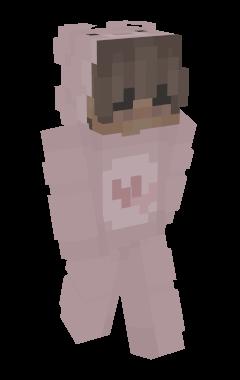 Minecraft-huid Onesie