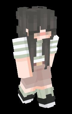 Minecraft-huid beaach