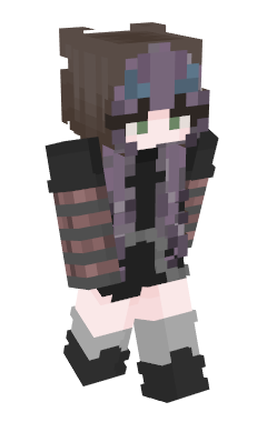Minecraft-huid CaramelSkies