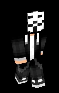 Minecraft-huid Annonymouus